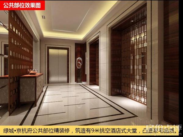 通州 京杭府   绿城·京杭府公共部位精装修,筑造有9米挑空酒店式大堂